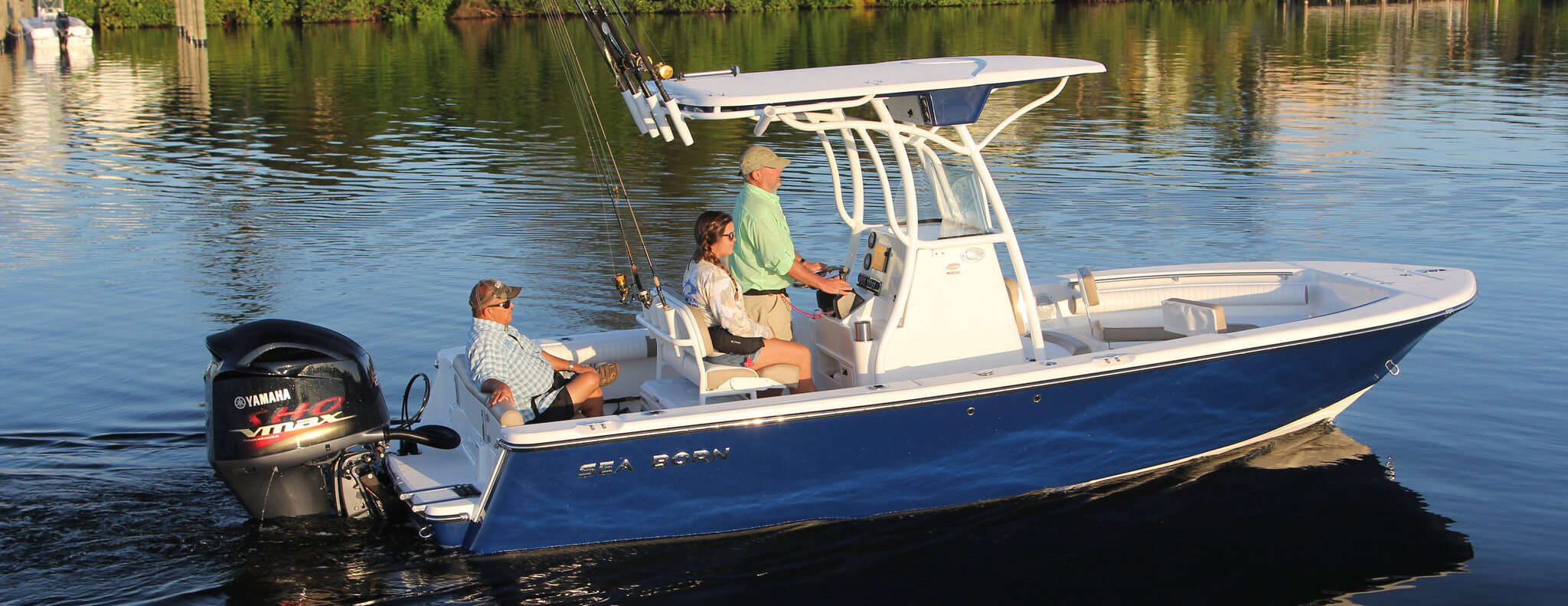 Shop sea born boats for sale in stuart best fishing boats for Fishing boat brands