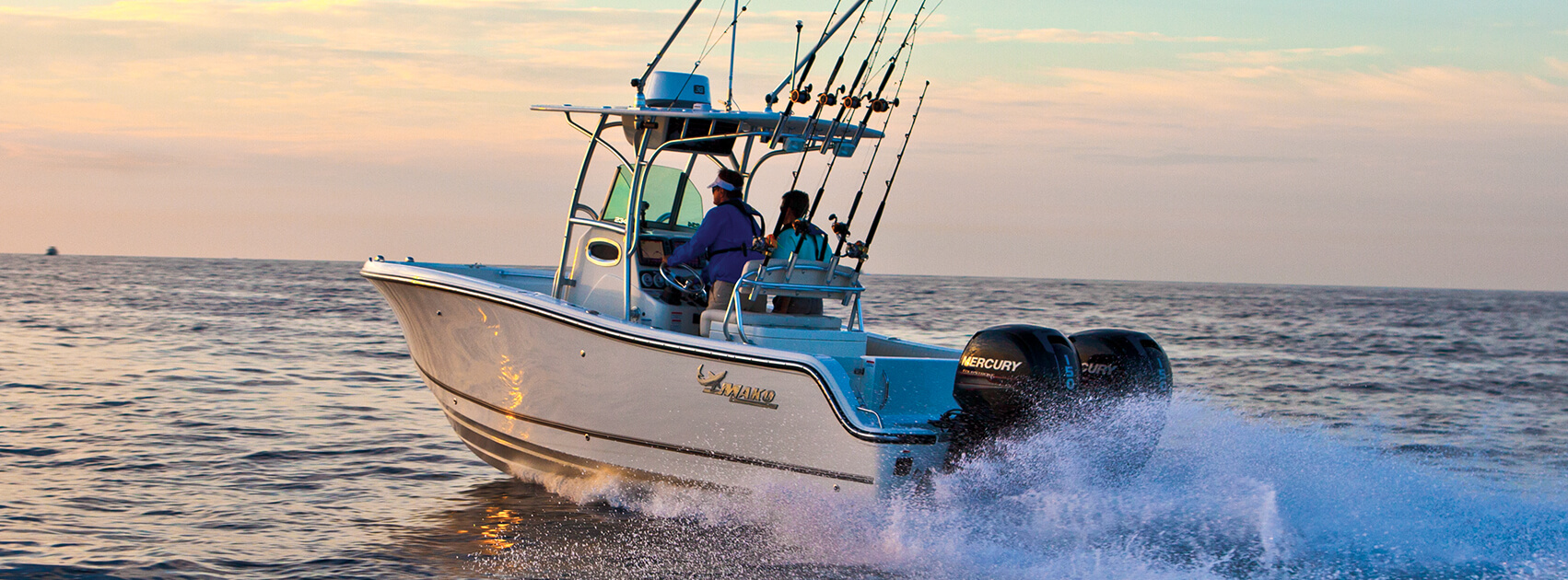Mako Offshore Fishing Boat