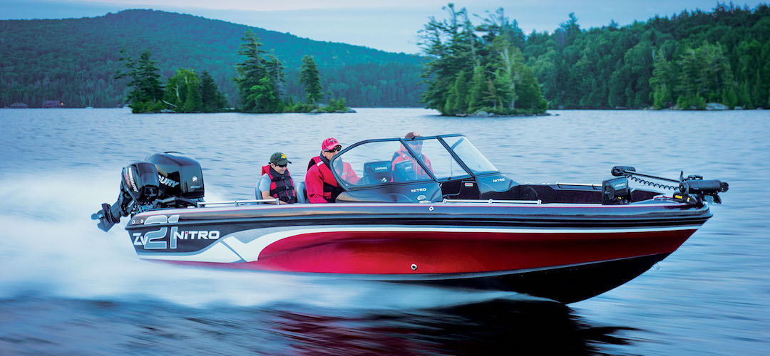 Nitro ZV21 Performance Package Multi-Species Boat