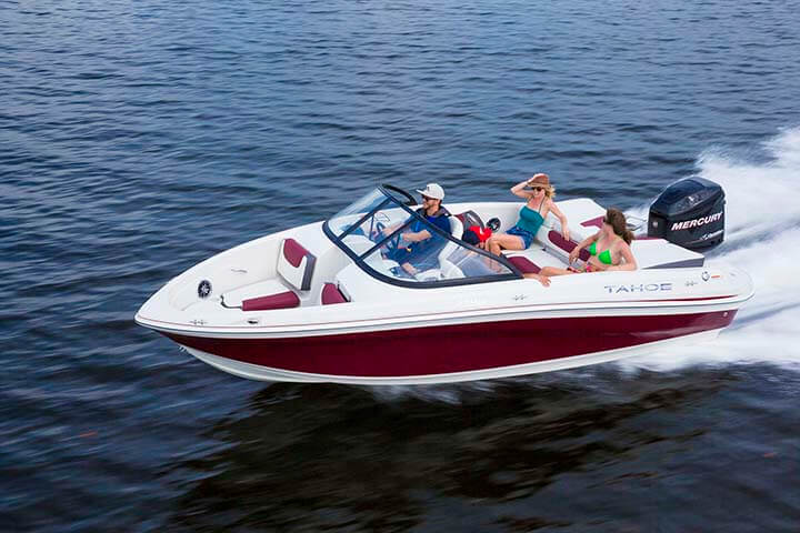 Tahoe sport boats 550 ts runabout waylen bay marine stuart for Runabout boats with outboard motors