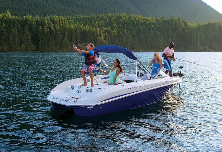 Tahoe sport boats q7i ski fish waylen bay marine stuart for Tahoe sport fishing