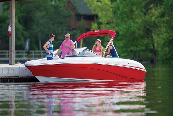 Tahoe Q7i Runabout Boat